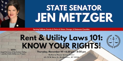 Rent & Utility Laws 101: KNOW YOUR RIGHTS!