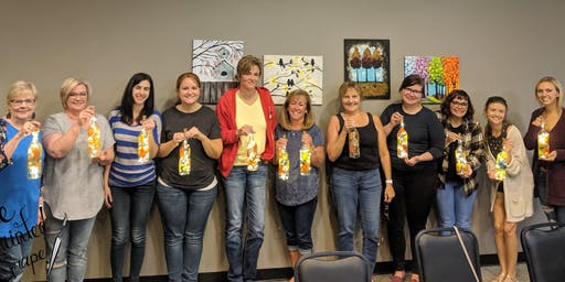 New Class! Join us for our Beer Glass Painting Party Workshop at The Pitch Pizza and Pub on 11/19 @ 6 pm