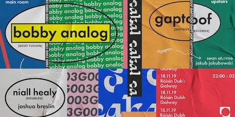 Cabal G003 w/ Bobby Analog tickets