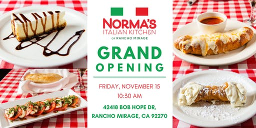Norma's Italian Kitchen Grand Opening