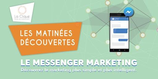 Le Messenger marketing - les matinées découvertes