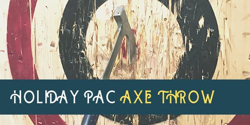 Holiday PAC AXE Throw