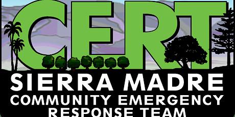 Sierra Madre CERT - Stop the Bleed Training