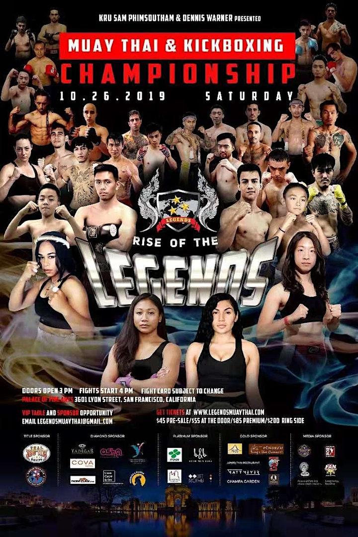 Legends Muay Thai Championship 2019 image