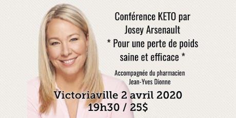 VICTORIAVILLE - Conférence KETO - Pour une perte de poids saine et efficace!  billets