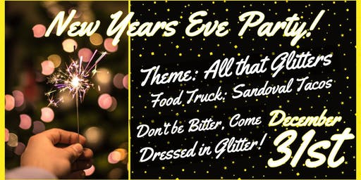 New Year's Eve Party - All that Glitters