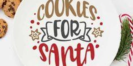 Cookies For Santa Plate tickets