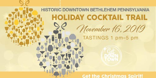 Silver & Gold Historic Bethlehem Holiday Cocktail Trail - 2019