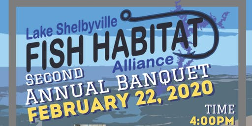 2020 Lake Shelbyville Fish Habitat Alliance Banquet