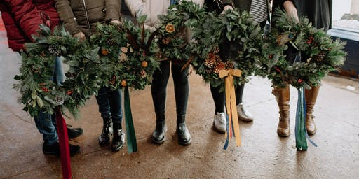 Wreath Making Workshop at Homestead Store