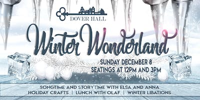 Winter Wonderland at Dover Hall - 12:00pm Seating