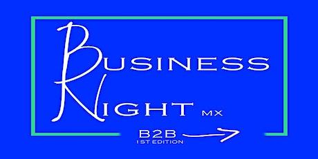 Business Night - Networking boletos