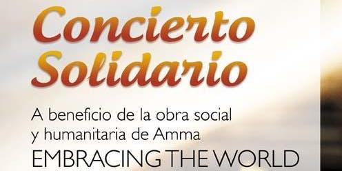 Concierto Solidario | Embracin the World - Amma | Pianista: Murali