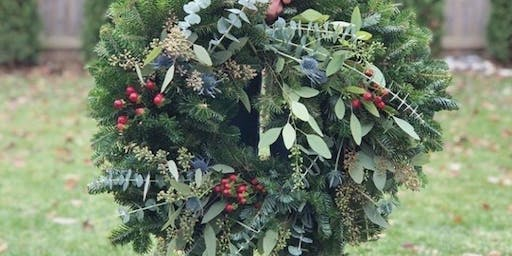 Holiday Greenery with Hidden Brook and Alice's Table