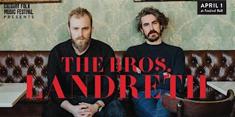 The Bros. Landreth tickets