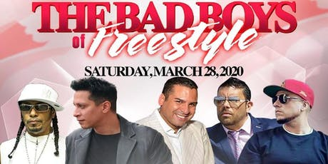 The Bad Boys Of Freestyle Coro - Noel - Soave - Sammy Zone - George Anthony tickets