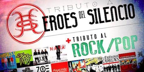 Tributo a Heroes del Silencio y al Rock/Pop (Espiritu del Vino y Zupernova) tickets