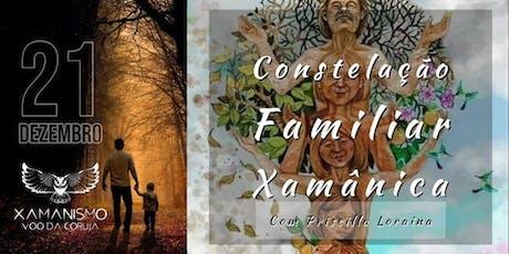 Constelação Familiar Xamânica Voo da Coruja Com Priscilla Loraina ingressos