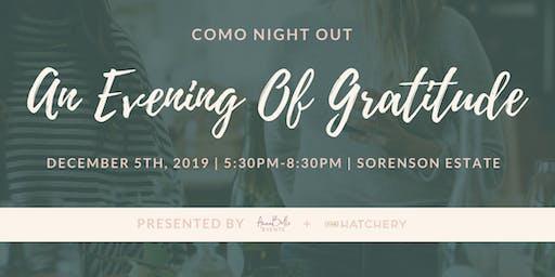 COMO Night Out | Evening of Empowerment