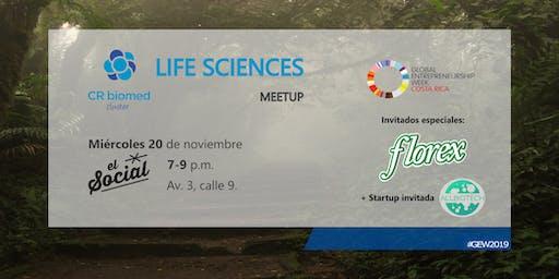 Life Sciences meetup - invitados Florex + Startup Allbiotech