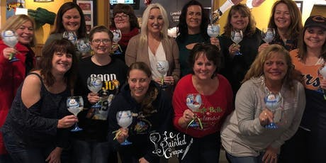 New Class! Join us for our Wine Glass Painting Party at Sugar Creek Winery on 11/20 @ 730pm tickets