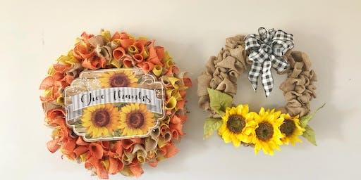 DIY: Thanksgiving Wreaths
