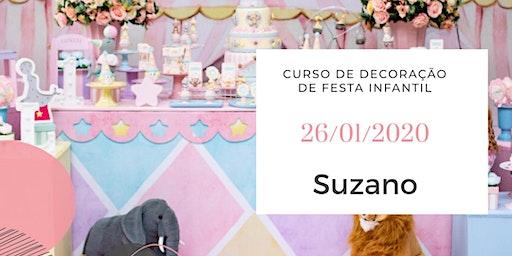 Curso Decoração Infantil Suzano