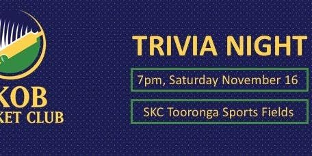 SKOB CC Trivia Night