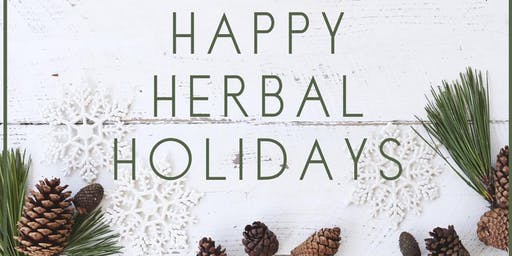 Happy Holidays Herbalism