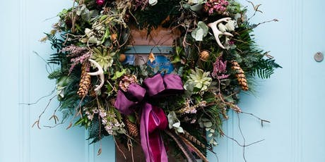 Beautiful Flowers Deluxe Christmas Wreath 11th Dec tickets