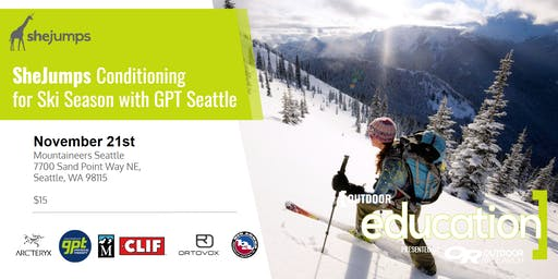 SheJumps Conditioning  for Ski Season with GPT Seattle