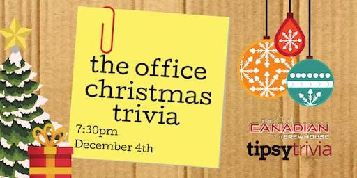 The Office Christmas Trivia - Dec 4, 7:30pm - CBH Winnipeg
