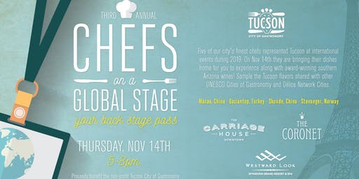 Chefs on a Global Stage Tasting Event