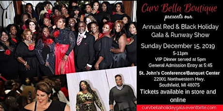 Curv Bella's  Annual Red and Black Gala & Fashion Show tickets
