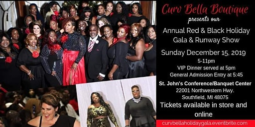 Curv Bella's  Annual Red and Black Gala & Fashion Show