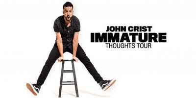 John Crist - Immature Thoughts Tour - MERCH VOLUNTEER - Flint, MI