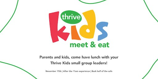Thrive Kids Meet & Eat