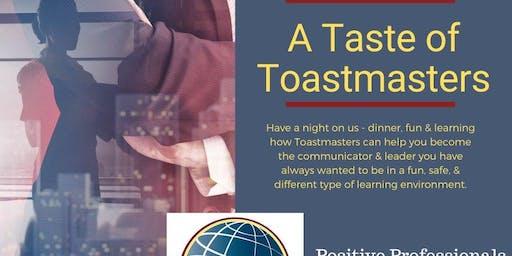 A Taste of Toastmasters
