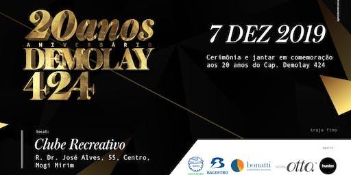 Festa de 20 anos - DeMolay Mogi Mirim