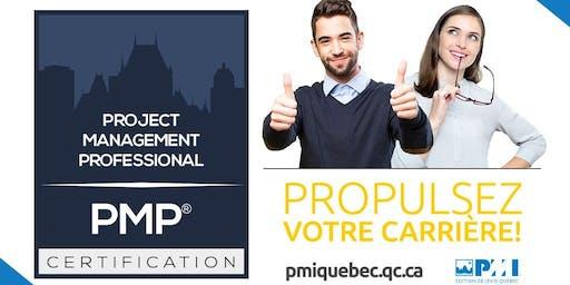 Formation (35 hres) : Préparation à la certification PMP® et CAPM® - Hiver 2020