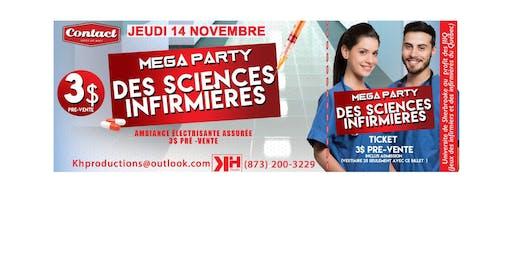 Party Sciences Infirmières Universitaire au Bar le Contact à Sherbrooke