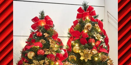 Holiday Design Series by Michael Skaff - Tabletop Tree Decor
