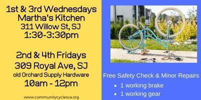 Volunteer: Free Safety Bicycle Repair on Royal Avenue