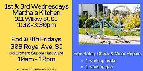 Volunteer: Free Safety Bicycle Repair on Royal Avenue tickets