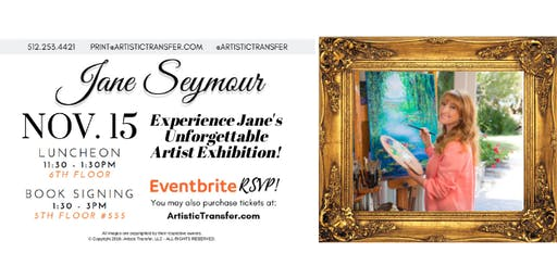 Jane Seymour Luncheon & Book Signing