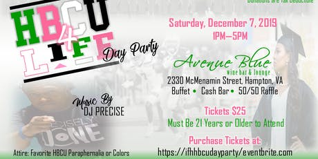 Ivy Foundation of Hampton, Inc. - HBCU 4 Life Day Party 2019 tickets