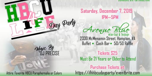 Ivy Foundation of Hampton, Inc. - HBCU 4 Life Day Party 2019