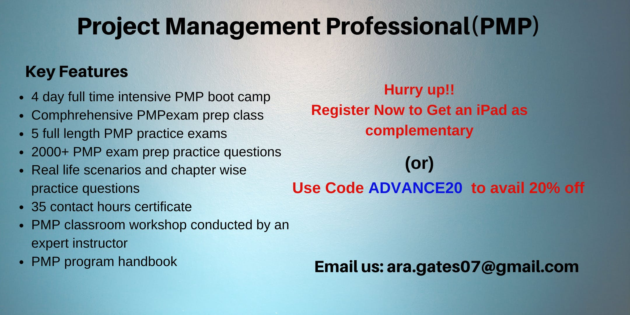Pmp Certification Course In Washington Dc