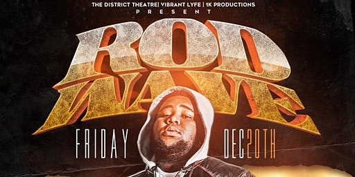 Rod Wave LIVE In Concert
