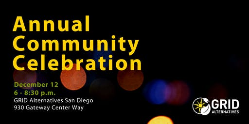 GRID's Annual Community Celebration